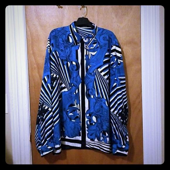 Versace Other - Gianni Versace Silk shirt 2012